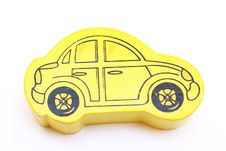 Free Yellow Toy Car Stock Images - 16483344