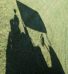 Free Golf Cart Shadow Stock Photo - 16483850