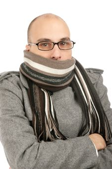 Free Young Man Dressed For Winter Stock Images - 16484574
