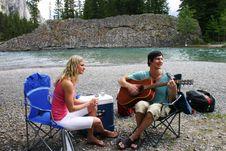 Free Couple On A Picnic Stock Photo - 16484580