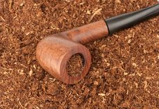 Free Pipe With Tobacco Stock Image - 16484751