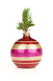 Free Red Christmas Ball Stock Images - 16484774