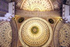 Dome Of Eminonu Mosque, Istanbul Royalty Free Stock Image
