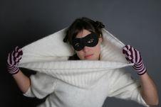 Woman Mask Stock Photography