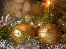 Free Christmas Decoration Royalty Free Stock Images - 16485189