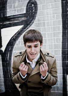 Free Young Man Yelling Royalty Free Stock Photography - 16485427