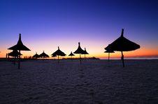Free Sunrise On The Beach Stock Image - 16485571