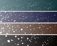 Free Snow Banners (468/90) Royalty Free Stock Photos - 16485808