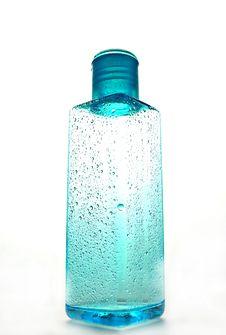 Free Blue Misty Bottle Royalty Free Stock Photo - 16486535