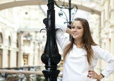 Free Girl On The Bridge Stock Photography - 16486712