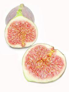 Fresh Fig Fruit Royalty Free Stock Photo