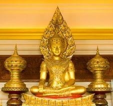 Free Golden Buddha Stock Image - 16487681