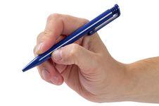 Free Take The Pen Stock Photo - 16488740