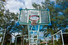Free Basketball Court Stock Images - 16489064