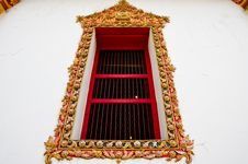 Free Thai Style Window Royalty Free Stock Photography - 16489087
