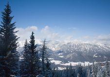 Free Mountains Under Snow.  Schladming . Austria Stock Photo - 16489250