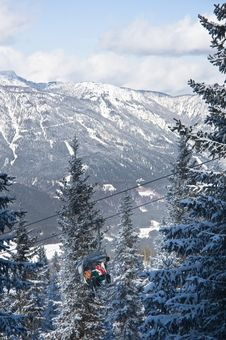 Free Ski Resort Schladming . Austria Royalty Free Stock Photography - 16489277