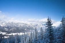 Free Mountains Under Snow. Schladming . Austria Royalty Free Stock Photo - 16489435