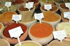 Free Spice Market Royalty Free Stock Photos - 16489458