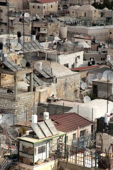 Free Old City Of Jerusalem Stock Photography - 16489562