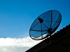 Free Small Satellite Stock Photography - 16489802