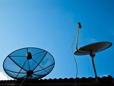 Free Two Satellites Stock Images - 16489824