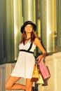 Free Happy Shopper Royalty Free Stock Photos - 16492238