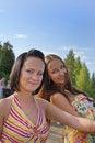 Free Beautiful Smiling Girls Royalty Free Stock Image - 16494396