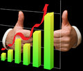 Free Businessman Approving A Chart Royalty Free Stock Photo - 16496335