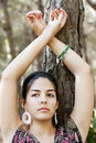 Free Posing On The Forest Royalty Free Stock Photos - 16498678