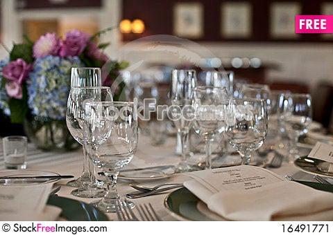 Free Wine Glasses Stock Image - 16491771