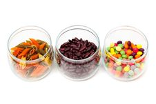 Free Food In Glass Jars Royalty Free Stock Photography - 16490307