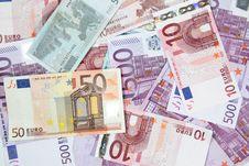 Free Euro Banknotes Stock Photos - 16490703