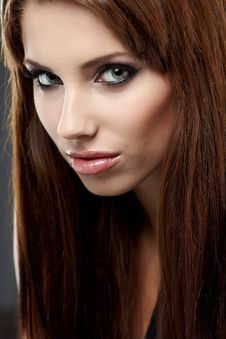 Free Young Brunette Woman Stock Photo - 16490860