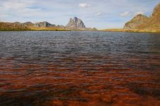 Free Red Water Lake At Anayet Plateau Stock Photography - 16491172