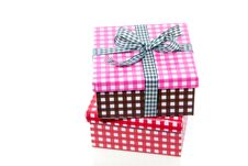 Free Colorful Checkered Giftboxes Stock Photos - 16491183