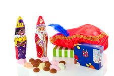Dutch Sinterklaas Celebration Stock Image