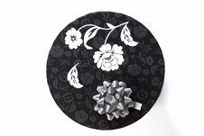 Free Round Decorated Luxury Gift Box. Stock Images - 16491694
