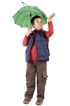 Free Under The Rain Royalty Free Stock Image - 16491736