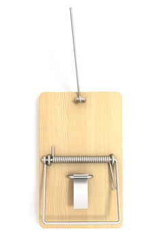 Free Mousetrap Empty Cheese Royalty Free Stock Photo - 16491805