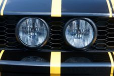 Free Two Round Headlights Stock Photos - 16492523