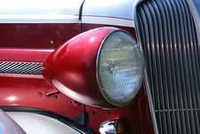 Free Anituque Car Headlight Stock Image - 16492671