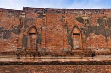 Free Buddhist Temple Ruins Royalty Free Stock Photography - 16493147