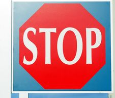 Free Transportation Stop Sign Stock Photo - 16493280