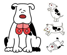 Free Cartoon Dog. Stock Photos - 16494593