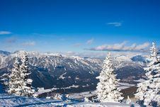 Free Mountains Under Snow.Schladming . Austria Royalty Free Stock Photos - 16494668