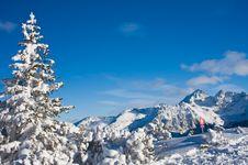 Free Mountains Under Snow. Schladming . Austria Stock Photos - 16494783