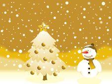 Free Christmas Background Royalty Free Stock Photo - 16494985