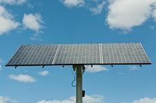 Free Photovoltaic Solar Panel Array - Renewable Energy Royalty Free Stock Photos - 16494998