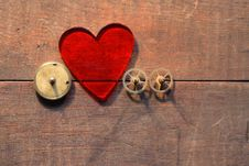 Free Mechanical Heart Stock Images - 16495154